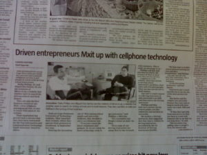 cape argus article about work