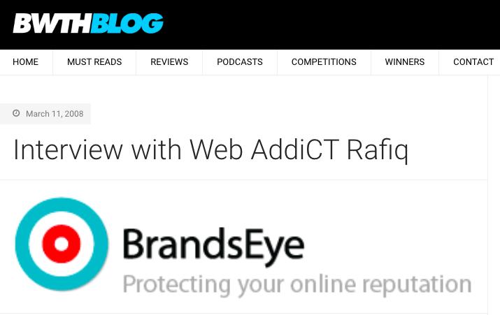 BandwidthBlog.com interview